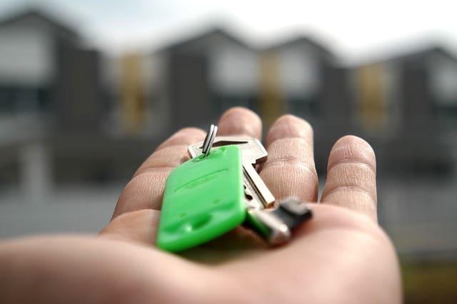Les clés d'uin bien immobilier à vendre